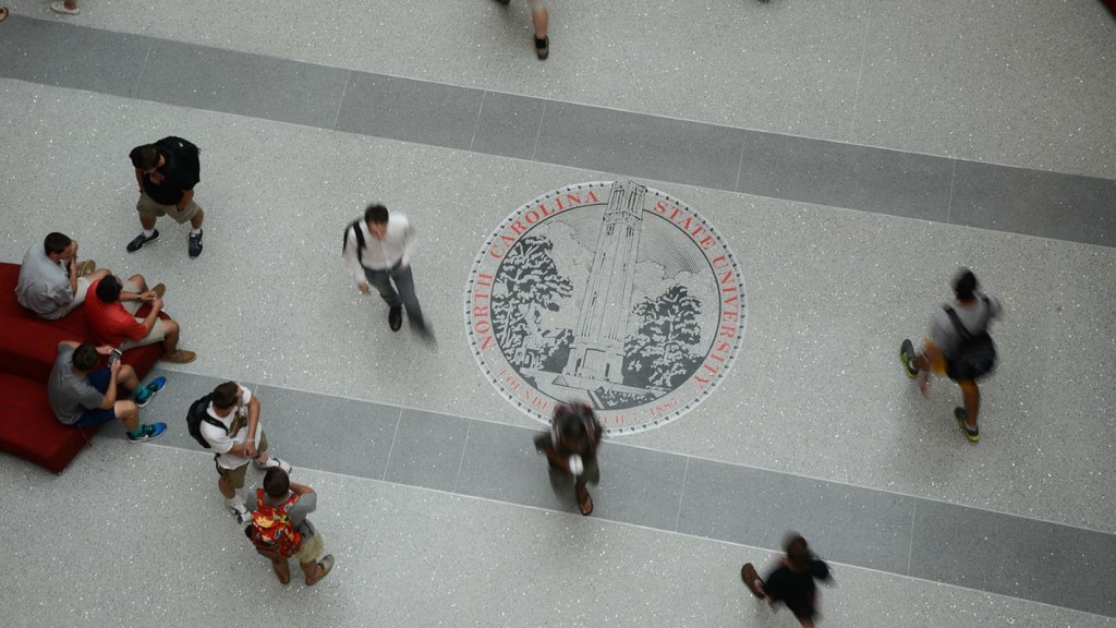 Talley Student Union  NCSU Seal